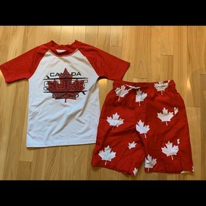 Canada boys bathing suit -size 7/8